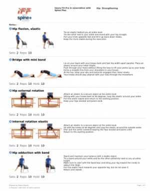 10 Best Hip Prehab / Rehab Exercises