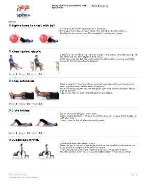 Top 10 Exercises For Knee Pain Exercises